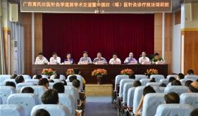 醫院舉辦廣西黃氏壯醫針灸學流派學術交流暨中國壯(瑤)醫針灸診療技法培訓班