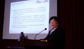 王力寧教授參加學術交流活動