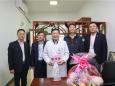 学校党委书记尤剑鹏亲临我院开展新春慰问活动