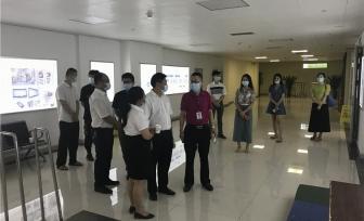宾阳县人民医院到我院仙葫院区参观交流
