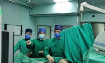 罕見!心臟左右冠狀動脈產生異常通路,我院心血管內科與介入科強強聯合成功微創介入治療!