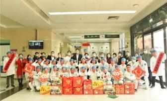 新春值守,感谢有你 | 医院领导亲切慰问春节坚守岗位的医院职工